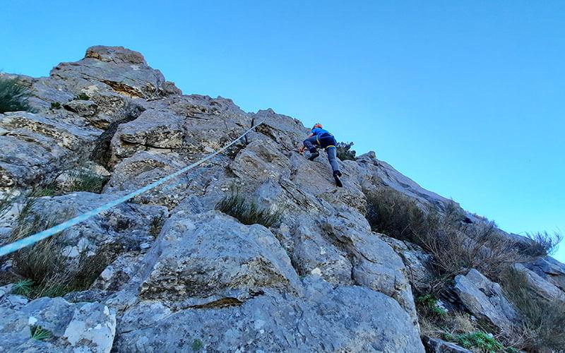Climbing in Ponta São Lourenço