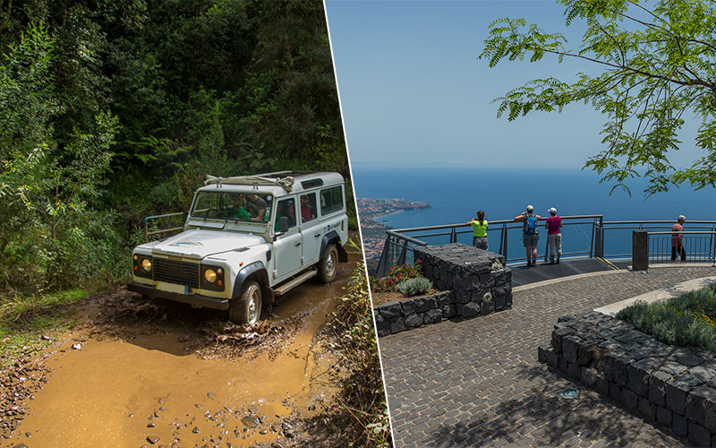 Nuns Valley and See Cliff Jeep Tour Madeira