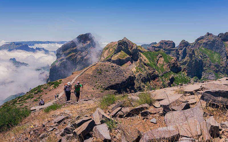 Pico do Areeiro to Pico Ruivo