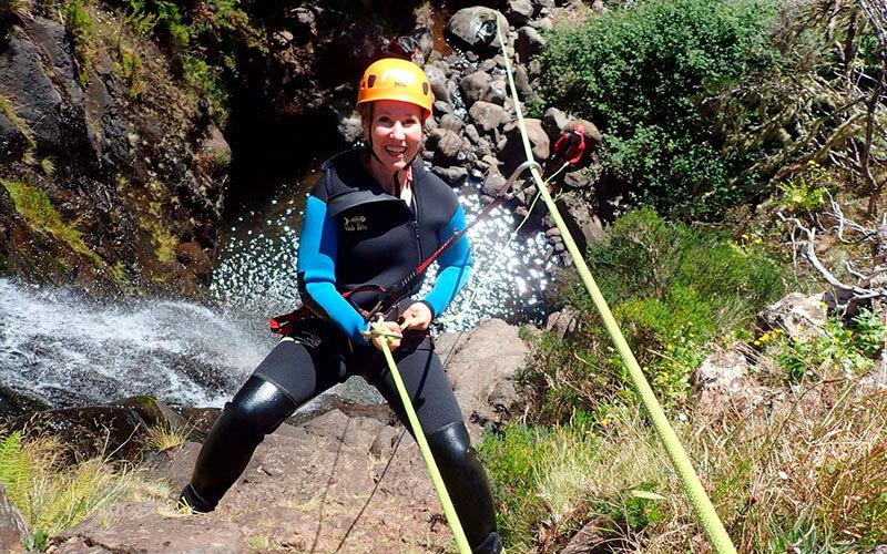 canyoning, Madeira Adventure Kingdom